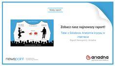 Jeśli jeszcze nie widzieliście naszej prezentacji o Anatomii kryzysu w internecie, zajrzyjcie na naszą stronę internetową! www.newspoint.pl