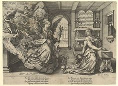 Hendrick Goltzius | Annunciation | The Met