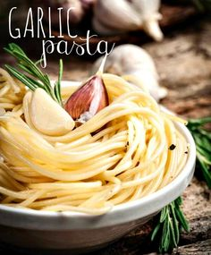 Garlic pasta: Delicious and simple