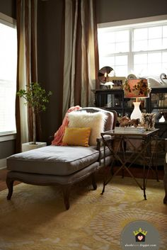 abode love: a man's home is his wife's castle: living room