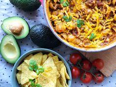 Opskrift: One pot cheesy taco pasta One Pot Pasta, Tacos, Recipes, Food, Essen, Meals, Ripped Recipes, Yemek, Eten