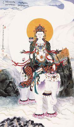 Nima Ze Ren(尼玛泽仁)  .   普贤菩萨造像