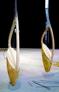 gravity harp prototype (these look like the harps made for Bjork? Guitar Rack, Play That Funky Music, My Muse, Work Inspiration, Percussion, Dance Music, Music Stuff, Musical Instruments, Good Music