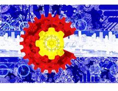 Colorado flag coloring page  motorhome trip busy binder