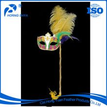 Ostrich Feather Mask, Ostrich Feather Mask direct from Cixi Hong Yuan Feather Products Co., Ltd. in China (Mainland)