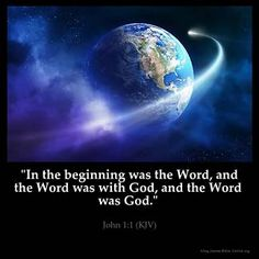 Inspirational Image for John 1:1