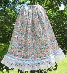 Blossoms and Lace Pillow Case Dress 2T by UnBEElievablyUnique
