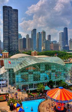 Chicago navy pier by ALdowayan, via Flickr