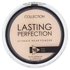 Collection Lasting perfection powder (01 Fair) - makeup nz cosmetics beauty la girl Makeup Sale, Make Makeup, Makeup And Beauty Blog, Makeup For Teens, Beauty Tips, Beauty Products, Lasting Perfection Concealer, La Girl