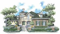 Eplans French Country House Plan - European Accents - 4664 Square Feet and 4 Bedrooms(s) from Eplans - House Plan Code HWEPL08700