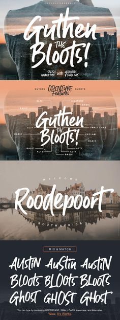 Guthen Bloots Brush Font is a smooth marker font with two stylish alternates. This font made with perfect combining of each character. Free Typography Fonts, Typeface Font, Calligraphy Fonts, Font Free, Free Brush Script Font, Graphic Design Fonts, Web Design, Typography Design, Creative Fonts