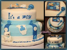 my first baby shower cake!