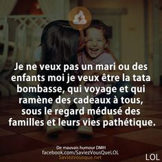 Funny Quotes, Life Quotes, Daily Positive Affirmations, Reality Of Life, French Quotes, Self Reminder, Really Funny, Funny Posts, Sentences