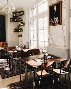 Vienna Picks: Cafe Hildebrandt Wien Volkskunde Museum, The Daily Dose Cafe Interior, Interior Design, Drake Quotes, Lokal, Cafe Design, Vienna, Affirmation Quotes, Wisdom Quotes, Vestidos