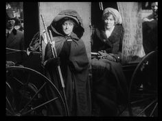 """""""There's very little film footage from the suffrage movement, so this 80-second clip from the National Film Preservation Foundation is a treasure. It's entitled """"On to Washington."""" The occasion is the suffrage hiking march with Rosalie Jones and Elisabeth Freeman and others who headed south to Washington, DC to join the suffrage parade scheduled to coincide with the inauguration of U.S. President Woodrow Wilson in 1913. (Notice the men marching in support with the women)"""""""