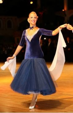 14a889f528869 Home :: Women's Department :: Dancewear-Ballroom :: SOLD - Blueberry  Ballroom