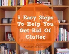 Is clutter taking over your home? Not sure where to start? Check out these 5 tips on how to get rid of clutter plus a free printable to help you through the sorting process. #getridofclutter