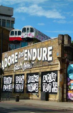 Village Underground, London - the old neighboUrhood!