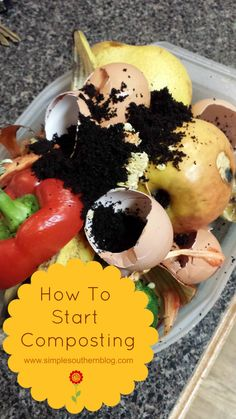 How to Start Composting www.simplesouthernblog.com