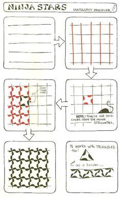 patternprints journal it: UN INTERESSANTE BOARD SU PINTEREST PER IMPARARE A DISEGNARE PATTERNS AGGROVIGLIATI (TANGLE PATTERNS)