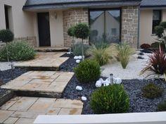 Jardin Minéral Garden Landscaping Diy, Outdoor Inspirations, Front Landscaping, Small Garden, Back Gardens