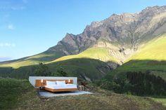 Open Air Hotel in the Swiss Alps – Fubiz Media