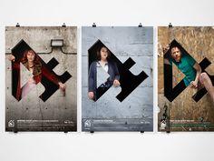 Théâtre de Quat'sous |2014-15 Campaign | lg2boutique on Behance
