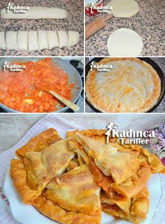 Onion cake recipe - Food and Drink Vegetarian Kids, Vegetarian Breakfast Recipes, Bread And Pastries, Onion Cake Recipe, Dough Recipe, Puff Recipe, Sibu, Tasty, Yummy Food