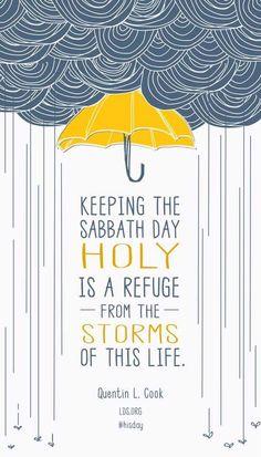 Happy Sabbath Day everyone!