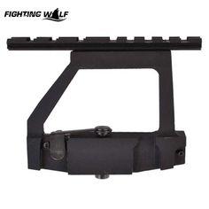 20mm Standard Tactical Hunter Tool Hunting 74U 47 Side Rail Quick Detach Tactical weaver Rail Mount Lock Red Dot / Optics Scope