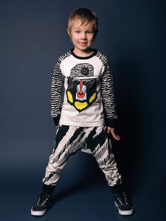 Prints and graphics are as strong for the boyswear as the girls at Mainio winter 2015 kids fashion