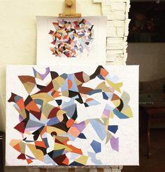 Artprocess #art #painting #instaartist #conteporaryart #instaart #oil #canvas  #color #artist #artistday #artistic #artprocess