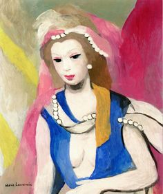 The Athenaeum - Esther (Marie Laurencin - No dates listed)