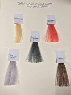 Color Conditioners #aveda #avedacolor #hair #haircolor