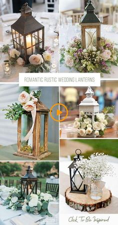 42 Romantic Rustic Wedding Lanterns We gathered super chic and fabulous examples of rustic wedding lanterns for you! 42 Romantic Rustic Wedding Lanterns We gathered super chic and fabulous examples of rustic wedding lanterns for you! Bridal Decorations, Outdoor Wedding Decorations, Rustic Wedding Centerpieces, Wedding Table Centerpieces, Centerpiece Ideas, Wedding Rustic, Ceremony Decorations, Diy Wedding Lanterns, Boho Wedding