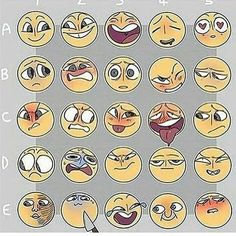 Ideas for memes faces drawing Drawing Reference Poses, Drawing Poses, Drawing Challenge, Art Challenge, Facial Expressions Drawing, Anime Faces Expressions, Drawing Meme, Drawing Drawing, Drawing Stuff