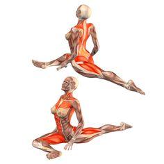 ૐ YOGA ૐ Urdhva Mukha Kapotasana ૐ La postura de la Paloma. Con Pierna Derecha Flexionada. Pigeon pose on right foot, Yoga Poses…