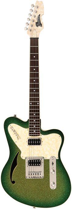 Italia Guitars Modena Semitone Lime