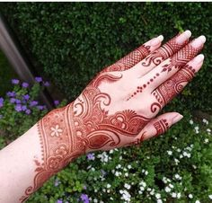 Colourful Henna And Mehndi Design (40)