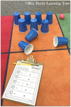 Subtraction bowling is so much fun! Grab these sheets to practice math facts in your Kindergarten or first grade classroom. Subtraction Kindergarten, Subtraction Activities, Preschool Math, In Kindergarten, Math Activities, Numeracy, Subitizing, First Grade Classroom, Math Classroom