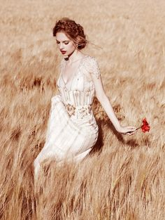 The fields came alive with her touch.. they were free.. they were endless fire... xo