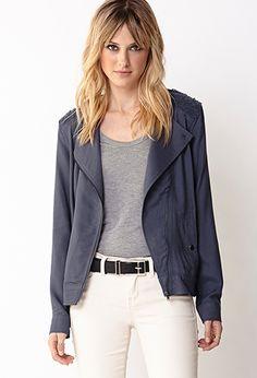 Modernist Casual Jacket | FOREVER 21 - 2000073729