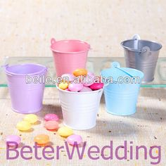 Aliexpress.com : Buy Wedding Decoration, Wedding Gift, Wedding Souvenir Tin wedding Favor Tin Pails WJ034 from Reliable Tin Pails suppliers on Shanghai Beter Gifts Co., Ltd.