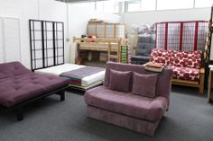 More Of Our Futon Showroom In Plymouth