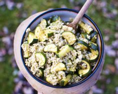 Roasted Zucchini Rice Salad - Simply Healthy