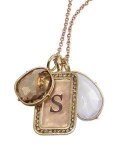 Heather Moore necklace: Channel ID Tag Necklace