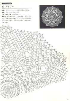 "Photo from album ""Suteki Pineapple Crochet Laces on Yandex. Free Crochet Doily Patterns, Crochet Doily Diagram, Crochet Chart, Crochet Doilies, Marque-pages Au Crochet, Crochet Home, Thread Crochet, Crochet Gifts, Crochet Square Blanket"