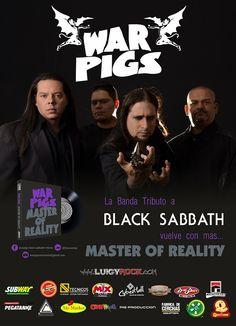 """La agrupación venezolanaWAR PIGSvuelven con su Tributo a Black Sabbath del disco""""Master of Reality"""" En…"""