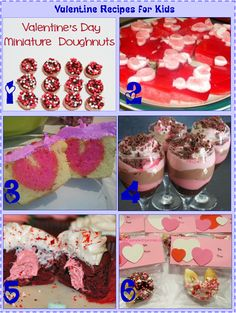 Valentine Recipes for Kids    Surprise your children on Valentine's Day with clip_image007these fun Heart Day recipes OR enlist the help of your kids to make these treats for your Spouse!