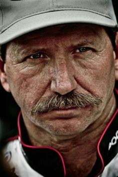 "Dale Earnhardt, ""The Intimidator."" Photo by Kevin York Nascar Cars, Nascar Racing, Drag Racing, Race Cars, Auto Racing, Nascar Diecast, The Intimidator, Nascar Sprint Cup, Danica Patrick"